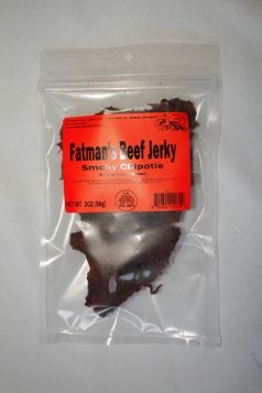 Fat Man's Beef Jerky » Chipotle Beef Jerky – 8 oz.