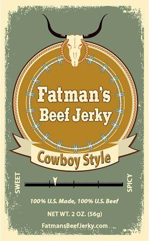 Cowboy Style Beef Jerky